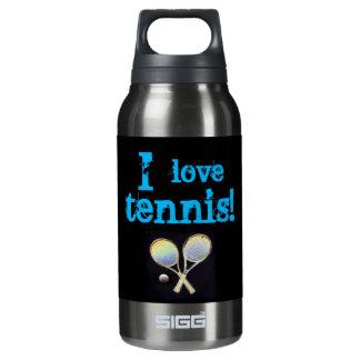 Agua negra de los deportes terma botella isotérmica de agua