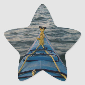 agua oscura pegatina en forma de estrella