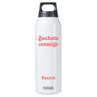 Agua personalizada baile latino de Bachata Conmigo