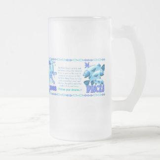 Agua Piscis llevados ovejas 1943 del zodiaco de Va Taza De Café
