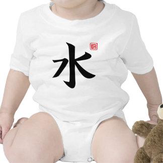 agua trajes de bebé