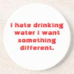 agua posavasos personalizados