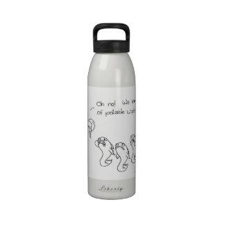 Agua potable botellas de agua reutilizables