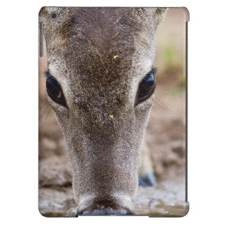 agua potable Blanco-atada de los ciervos Funda Para iPad Air