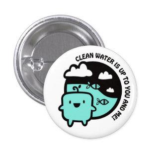 Agua potable pin
