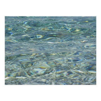 Agua potable póster