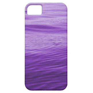 Agua púrpura iPhone 5 fundas