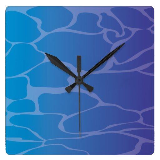 Agua Relojes De Pared