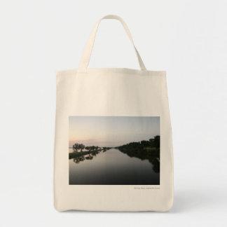 Agua serena bolsa tela para la compra