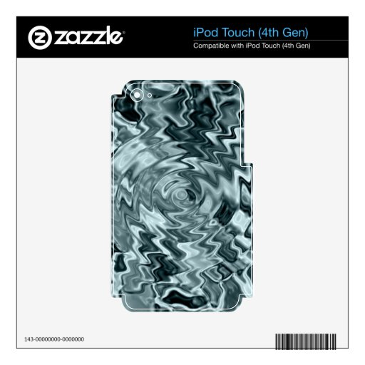 agua skins para iPod touch 4G