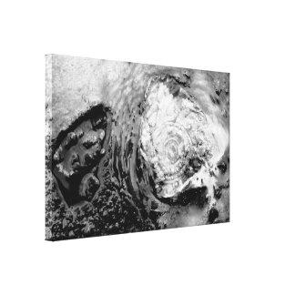 Agua termal de ebullición impresiones de lienzo
