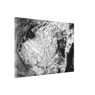 Agua termal de ebullición lienzo envuelto para galerias