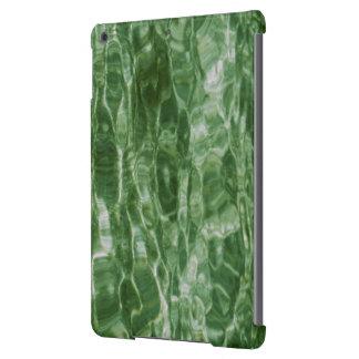 Agua verde funda para iPad air