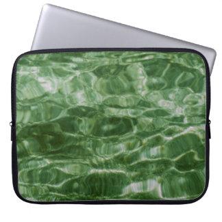 Agua verde funda ordendadores