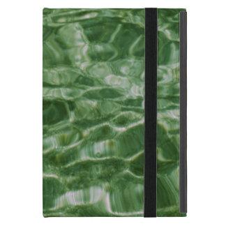 Agua verde iPad mini carcasa
