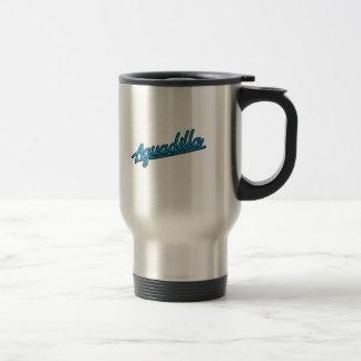 Aguadillia en ciánico tazas de café