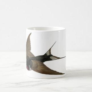 Aguafuerte zoológica clásica - trago taza de café