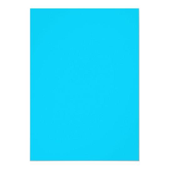 """Aguamarina azul invitación 5"""" x 7"""""""