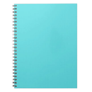 Aguamarina azul cuadernos