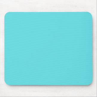 Aguamarina azul alfombrilla de ratón