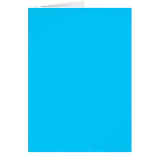 Aguamarina azul tarjeton