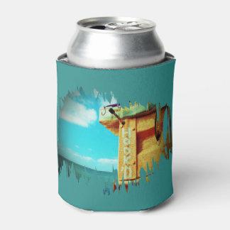 Aguamarina de la caja de aparejos de los pescados enfriador de latas