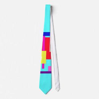 Aguamarina de la mirada fija corbata personalizada
