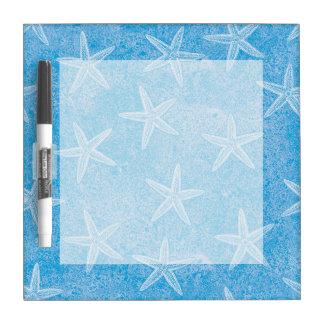 Aguamarina de las estrellas de mar azul pizarras