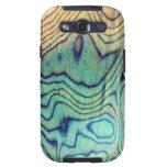 Aguamarina de madera galaxy s3 coberturas