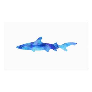 Aguamarina del azul del trullo del tinte de la tarjetas de visita