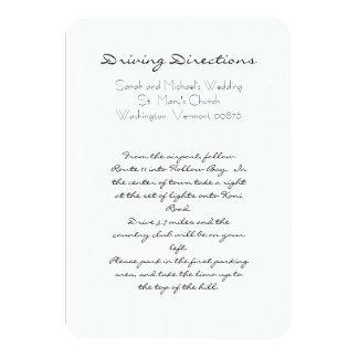 Aguamarina del boda de playa y tarjetas blancas de comunicado personal