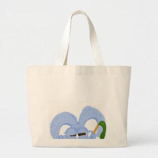 Aguamarina el conejito con los ojos soñolientos bolsa