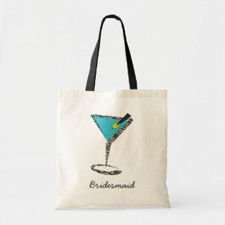 aguamarina elegante martini bolsas