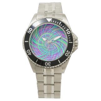 Aguamarina feliz (c) relojes de mano