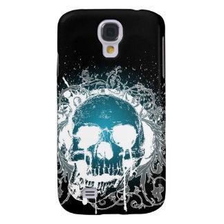 aguamarina gótica del cráneo 3G Funda Samsung S4