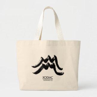 Aguamarina - logotipo - blanco, logotipo - Xodiac  Bolsa De Mano