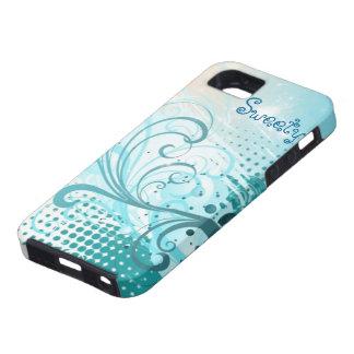 Aguamarina mágica funda para iPhone SE/5/5s