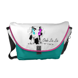 Aguamarina rosada de moda de los modelos de moda d bolsas de mensajeria