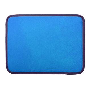 Aguamarina texturizada funda para macbooks