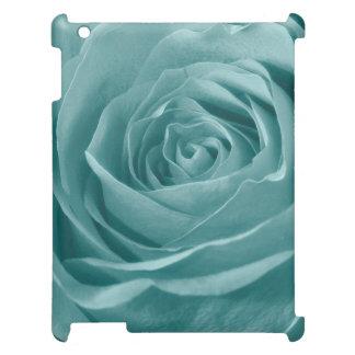 Aguamarina vibrante subió, fotografía floral de la