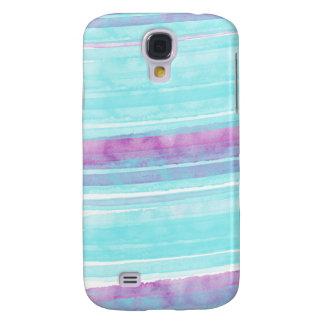 Aguamarina y caja púrpura de la galaxia S4 de Funda Para Galaxy S4