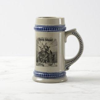 Aguamiel de la bebida - alabanza Odin Jarra De Cerveza