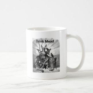 Aguamiel de la bebida - alabanza Odin Taza De Café