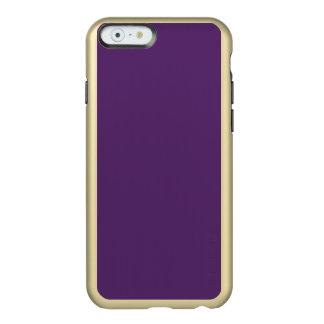 AGUANIEVE PÚRPURA de la UVA (coloración, tipo del Funda Para iPhone 6 Plus Incipio Feather Shine