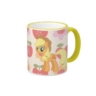 Aguardiente de manzana tazas de café