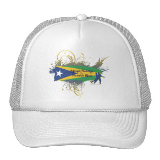 Aguas Buenas - Puerto Rico Mesh Hats
