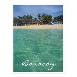 aguas claras de Boracay Postales