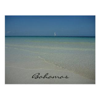 aguas de Bahamas Tarjeta Postal