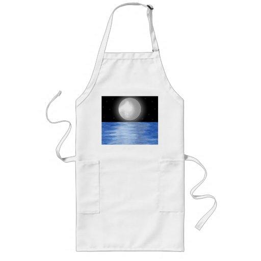 Aguas de la luna delantal largo