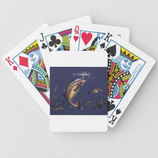 Aguas de la trucha baraja cartas de poker